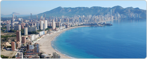 Hotels PayPal in Benidorm - Costa Blanca Valenciana Spain